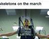 Exoskeletony na pochodu