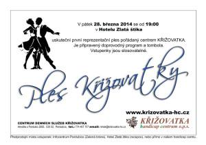 První reprezentační ples KŘIŽOVATKY HC