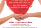 Blíží se Valentýn. Opět ho můžete oslavit darováním krve v Pardubické nemocnici