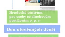 Den otevřených dveří – Hradecké centrum pro osoby se sluchovým postižením