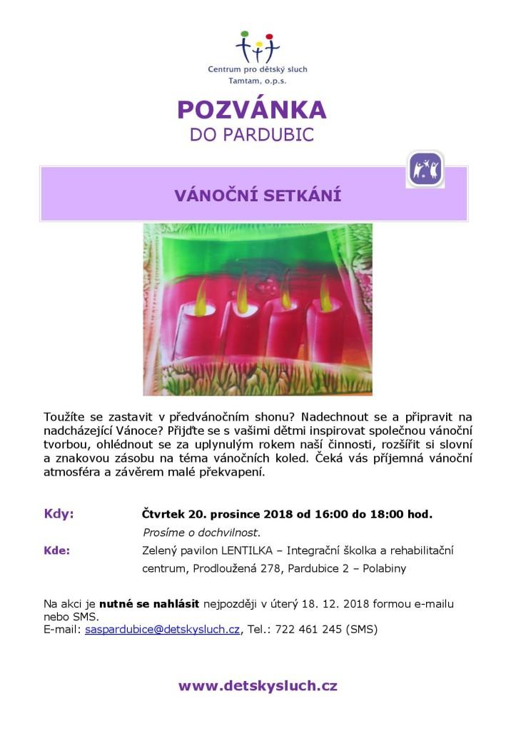 SAS PCE_pozvanka Vanocni setkani