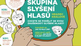 S hlasy lidem pomáhá nová Skupina slyšení hlasů Hradec Králové