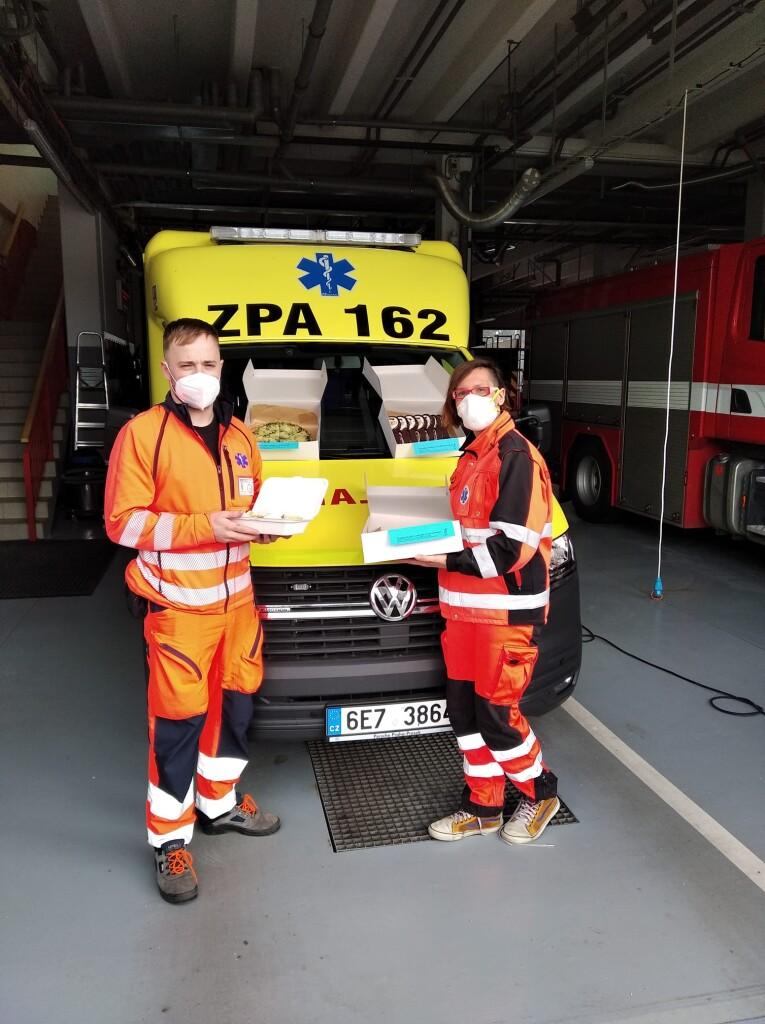 pečení pro záchranáře