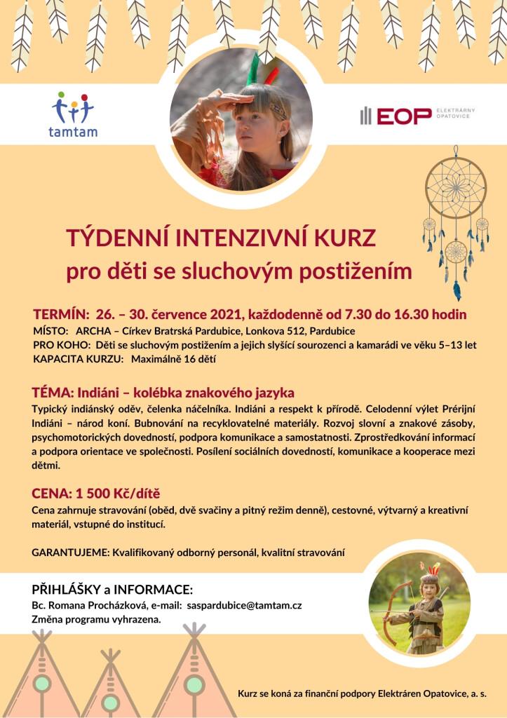 LETÁK - Týdenní kurz Pardubice